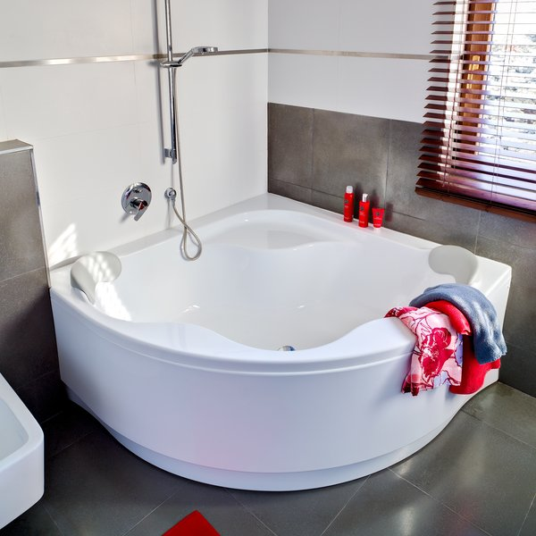 Купить ванну для двоих акриловую